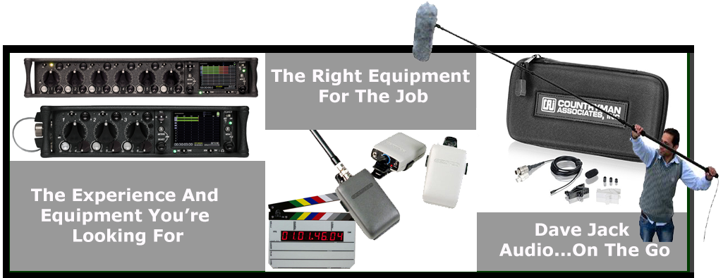 Audio Broadcast and Recording Equipment